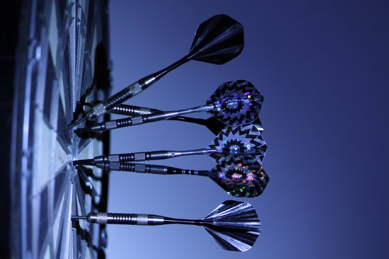 Target dartboard with darts